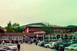 Hotel Bosna, Олово