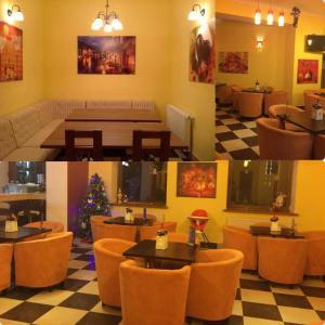 AMBER Hotel & Cafe, Hotely  Bohorodchany - big - 57