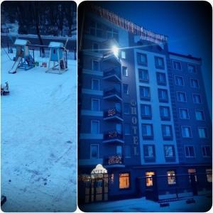 AMBER Hotel & Cafe, Hotely  Bohorodchany - big - 58