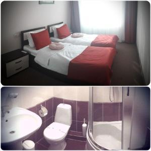 AMBER Hotel & Cafe, Hotely  Bohorodchany - big - 10