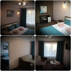AMBER Hotel & Cafe, Hotely  Bohorodchany - big - 13