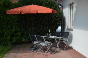 Ferienwohnung Kranichblick, Апартаменты  Neddesitz - big - 12