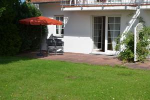 Ferienwohnung Kranichblick, Апартаменты  Neddesitz - big - 14