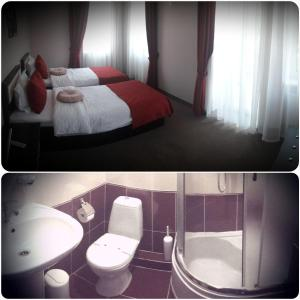 AMBER Hotel & Cafe, Hotely  Bohorodchany - big - 17