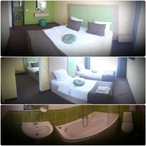 AMBER Hotel & Cafe, Hotely  Bohorodchany - big - 33