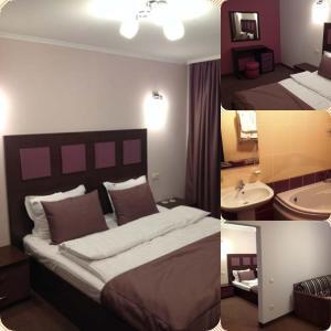 AMBER Hotel & Cafe, Hotely  Bohorodchany - big - 37