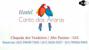 Hostel Canto das Araras, Hostels  Alto Paraíso de Goiás - big - 1
