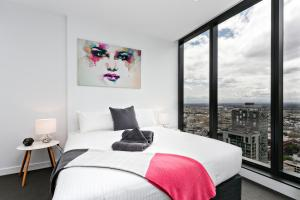 COMPLETE HOST Rose Lane CBD, Апартаменты  Мельбурн - big - 43