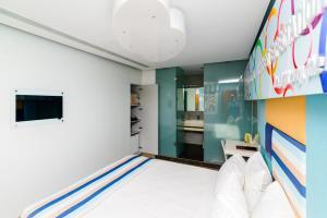 Kastro Hotel, Hotels  Iraklio - big - 80