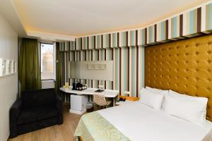 Kastro Hotel, Hotels  Iraklio - big - 31