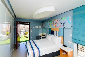 Kastro Hotel, Hotels  Iraklio - big - 91