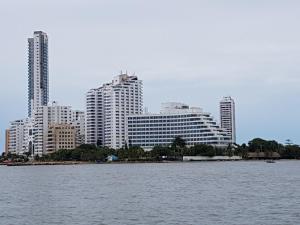 Espectaculares Vistas, Edificio Nautilus, Barrio El Laguito., Апартаменты  Картахена - big - 16