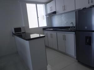 Espectaculares Vistas, Edificio Nautilus, Barrio El Laguito., Апартаменты  Картахена - big - 13