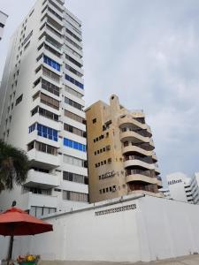 Espectaculares Vistas, Edificio Nautilus, Barrio El Laguito., Апартаменты  Картахена - big - 59