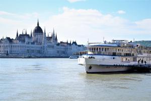 Grand Jules - Boat Hotel, Botely  Budapešť - big - 60