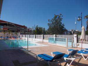 Golden Beach appartement met Pool, Apartmanok  Puerto de Mogán - big - 10