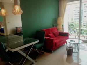 Grand Caribbean Condo by Weiwei, Apartmány  Pattaya South - big - 36