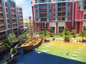 Grand Caribbean Condo by Weiwei, Apartmány  Pattaya South - big - 59