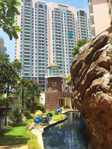 Grand Caribbean Condo by Weiwei, Apartmány  Pattaya South - big - 69
