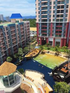 Grand Caribbean Condo by Weiwei, Apartmány  Pattaya South - big - 55