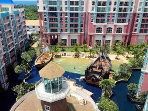 Grand Caribbean Condo by Weiwei, Apartmány  Pattaya South - big - 54