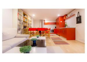 Artsy apartment