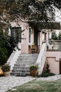 Villa Rosebud, Виллы  Никиана - big - 9