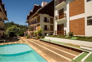 Apartamento Megeve, Ferienwohnungen  Campos do Jordão - big - 4