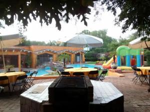 Quinta Cobos, Alloggi in famiglia  Tequisquiapan - big - 11