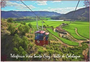 Casa Pinot, Ferienhäuser  Santa Cruz - big - 16