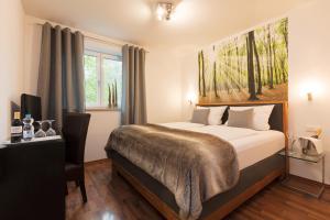 Hotel Villa Rosa, Hotels  Allershausen - big - 19