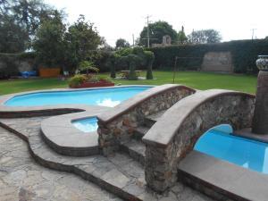 Quinta Cobos, Alloggi in famiglia  Tequisquiapan - big - 8