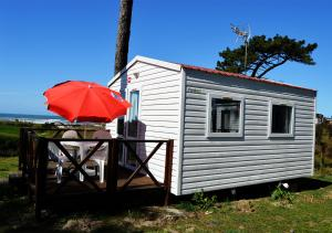 Mobile Home (2 Adults) - Facilities Campismo Orbitur Angeiras