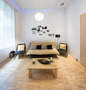 City Center Andrassy, Apartmány  Budapešť - big - 2