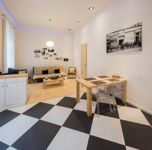City Center Andrassy, Apartmány  Budapešť - big - 10