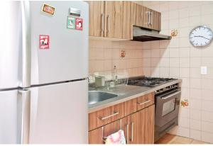 L' olive cozy terrace apartament, Апартаменты  Мехико - big - 8