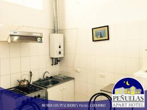 Apart Hotel Penuelas, Residence  Coquimbo - big - 9