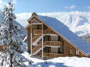 Apartment Le lievre blanc la crete du berger, Apartmány  La Joue du Loup - big - 9