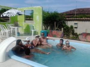 Casa da Praia Unamar, Ferienhäuser  Tamoios - big - 20