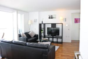 2 Bedroom Apartment @ New Providence Wharf, Apartmány  Londýn - big - 11