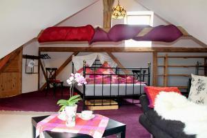 Betten im Bauernhaus
