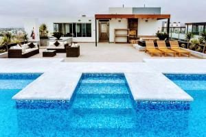 Exclusivo Departamento Con Vista Al Mar, Ferienwohnungen  Lima - big - 32