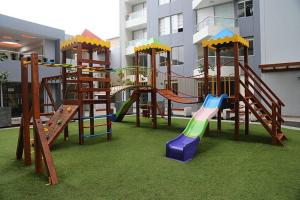Exclusivo Departamento Con Vista Al Mar, Ferienwohnungen  Lima - big - 17