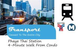 Center Art Condo, Apartments  Bangkok - big - 33