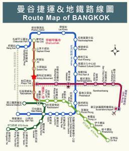 Center Art Condo, Apartmanok  Bangkok - big - 34