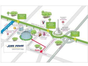 Center Art Condo, Apartmanok  Bangkok - big - 29
