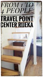 Travelpointcentar Fiume 1, Апартаменты  Риека - big - 19