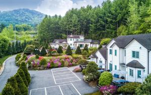 Green Hill Pension, Дома для отпуска  Пхёнчхан - big - 5