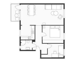 Fageråsveien apartment