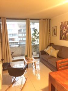 Apartamento Parque Bustamante, Appartamenti  Santiago - big - 6